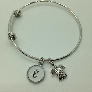 Jewelry - Initial Charm Bracelet with Extra Charm NEW